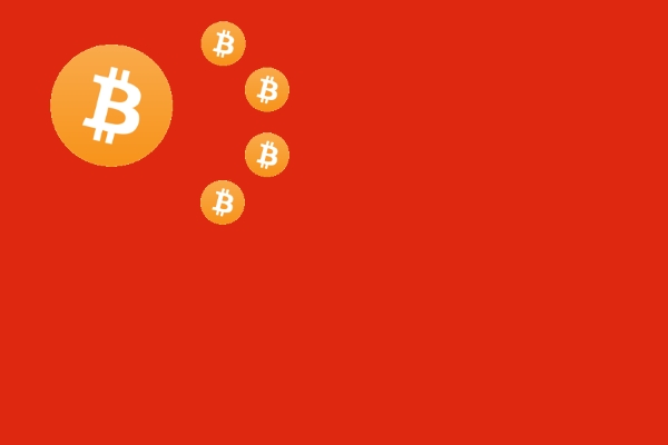 china flag bitcoin