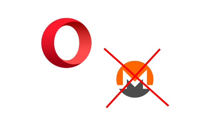opera blocks monero