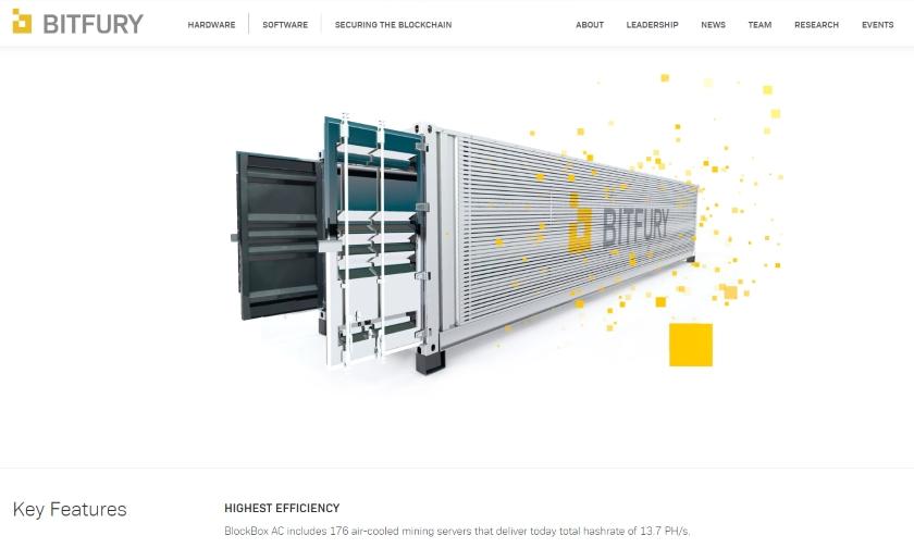 BITFURY crypto world network news