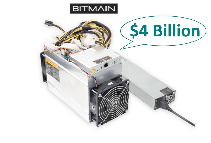 BITMAIN ASIC miners profit