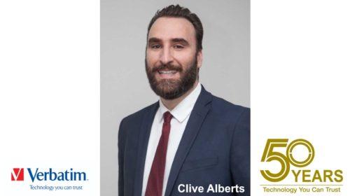 Clive Alberts je novým prezidentem společnosti Verbatim