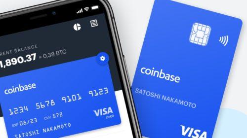 Coinbase spustila Coinbase Card