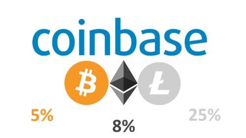 Coinbase převedlo 5 miliard dolarů