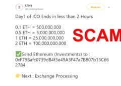 FB Libra scam