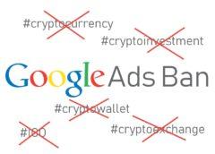 Google ads ban