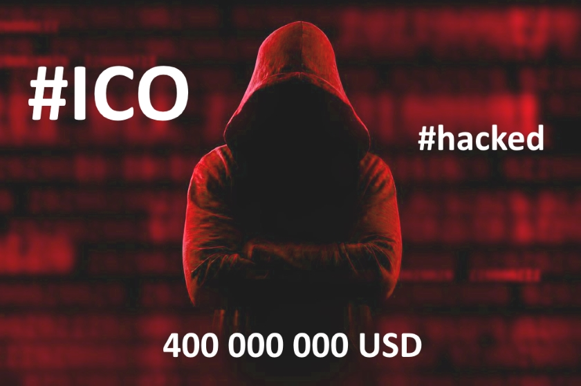 ICO hacked