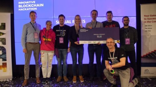 Energetická burza PowerChains vyhrála Innovative Blockchain Hackathon