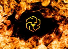 LEO token burn