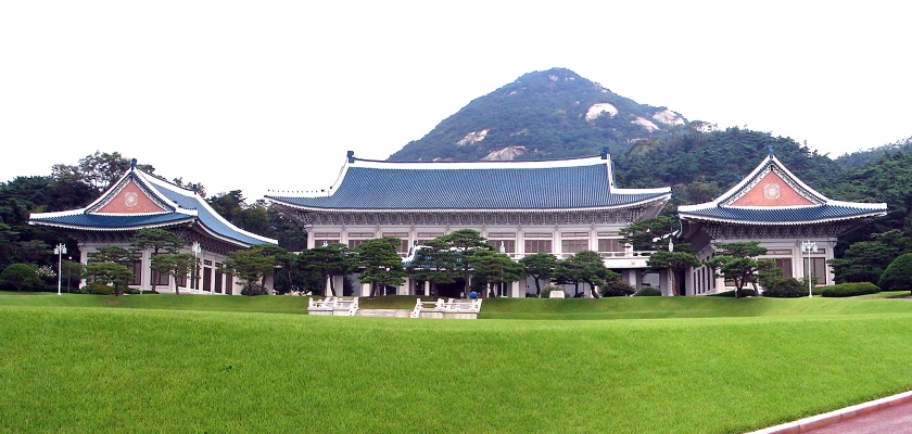 Main buildings of Cheongwadae