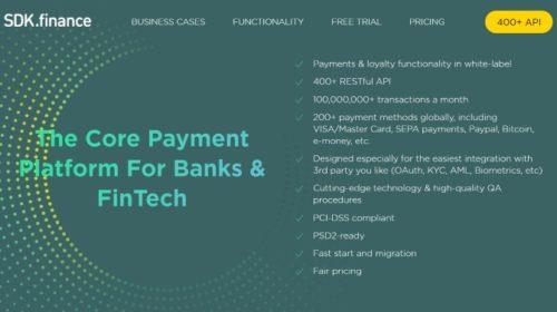 SDK.finance zvolila platformu Oracle Blockchain Cloud Service